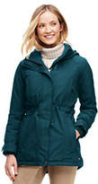 Lands' End Women's Tall Squall Insulated Parka-Pool Blue