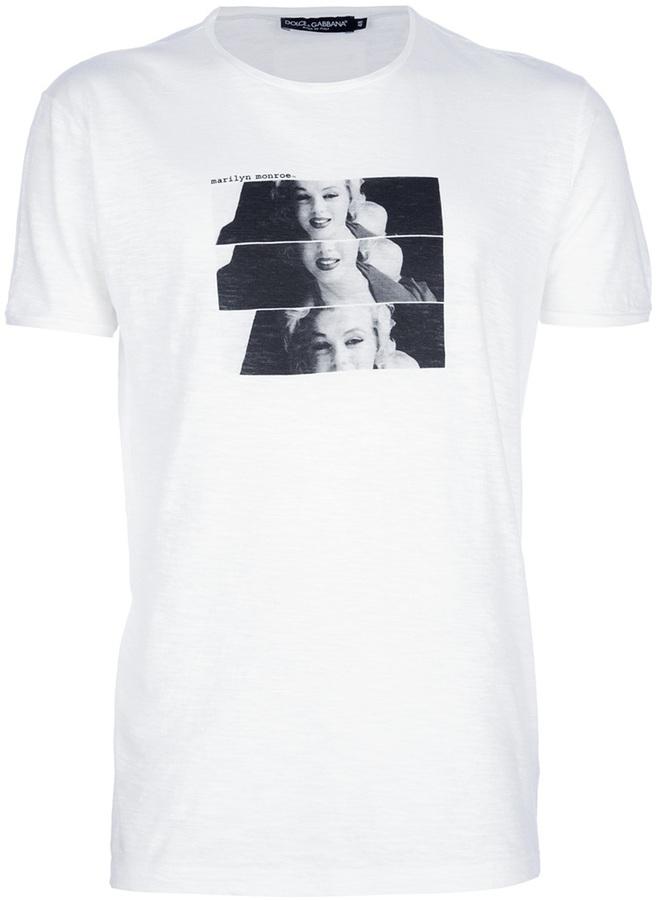 Dolce & Gabbana marilyn monroe print t-shirt