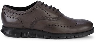 Cole Haan Zero Grand Wingtip Leather Oxfords