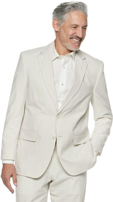 Men's Palm Beach Bradley Classic-Fit Seersucker Suit Jacket