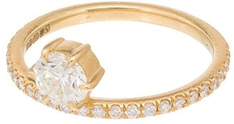 Jade Trau 18kt Gold Diamond Ring