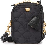 Moschino Quilted Bear Nylon Crossbody Bag