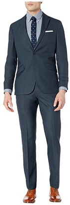 Kenneth Cole Reaction Unlisted Nested Suit (Blue) Men's Suits Sets