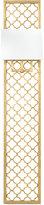 Regina-Andrew Design Regina Andrew Design Gold-Leaf Quatrefoil Panel Sconce
