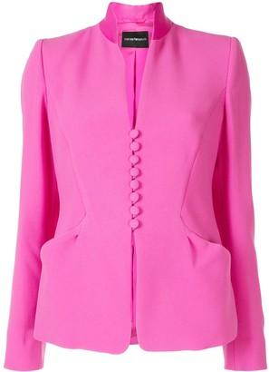 Emporio Armani Standing Collar Blazer