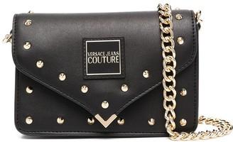 Versace Jeans Couture Spike Stud Shoulder Bag