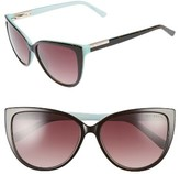 Ted Baker Women's 57Mm Cat Eye Sunglasses - Tortoise
