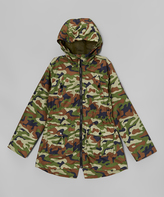 Hawke & Co Camo Zip-Up Jacket - Girls