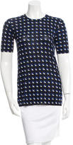 Prada Printed Knit Top