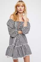 MLM Label Freda Gingham Dress by at Free People