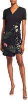 Ted Baker Mizalia Highland Wrap Front Floral Dress