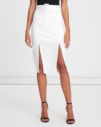Dakota Split Midi Skirt