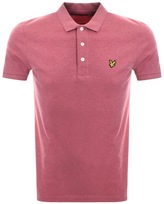Lyle & Scott Short Sleeved Polo T Shirt Red