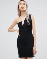 Daisy Street One Shoulder Dress
