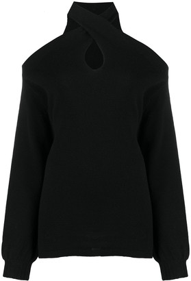 FEDERICA TOSI Cold-Shoulder Jumper