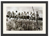 Amanti Art Lunch on a Skyscraper Framed Art Print by Charles C. Ebbets