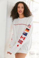 Urban Outfitters Hinds Flag Crew-Neck Sweatshirt
