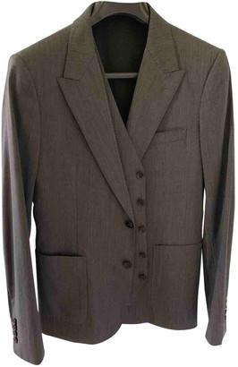 Dolce & Gabbana Grey Wool Suits