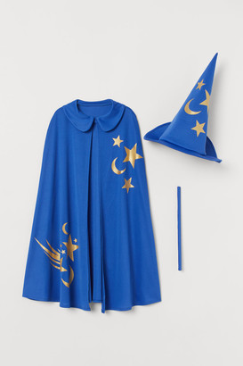 H&M Costume Cape and Hat - Blue