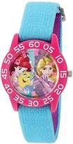Disney Girl's 'Rapunzel' Quartz Plastic and Nylon Watch