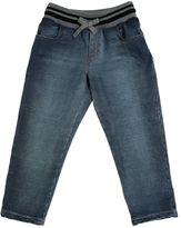 Dolce & Gabbana Denim Effect Cotton Pants