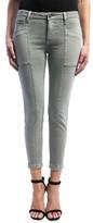 Liverpool Jeans Company Women's Cargo Pocket Skinny Crop Jeans