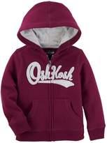 Osh Kosh Oshkosh Bgosh Toddler Boy Logo Zip Hoodie