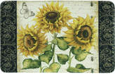 """Bacova French Sunflower 20"""" x 35"""" Accent Rug"""