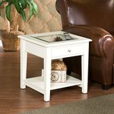 Bed Bath & Beyond Panorama End Table in White