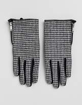 Pimkie Mini Dogtooth Gloves