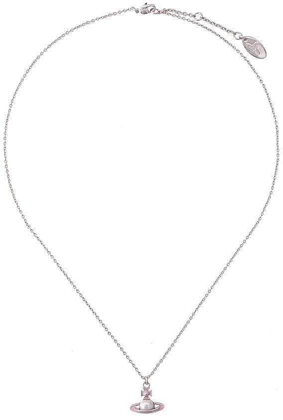 Vivienne Westwood small pearl logo necklace