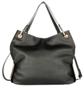 Celine Dion Symphony Faux Leather Hobo - Black