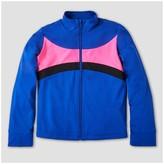Freestyle by Danskin Girls' Activewear Track Jacket - Blue
