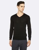 Oxford Merino V-Neck Pullover