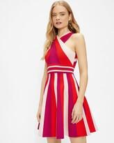 Thumbnail for your product : Ted Baker Metropolis Stripe Knit Skater Dress