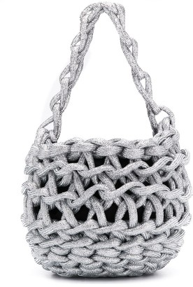 Alienina Tina woven mini bag