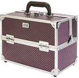 S.O.H.O New York Purple Diamond Vanity Case