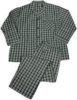 Hanes Mens Long Sleeve Broadcloth Pajamas