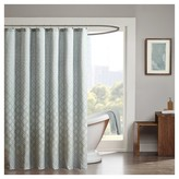 "Nobrand No Brand Hudson Jacquard Shower Curtain - Blue (72""x72"")"