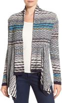 Nic+Zoe &Shaded Stripes& Cardigan (Petite)