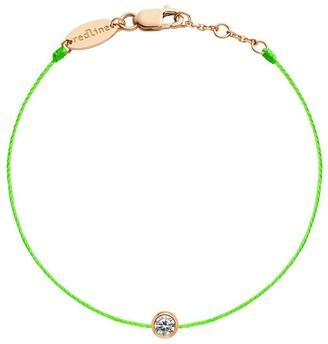 Redline 18kt Rose Gold Pure Diamond Cord Bracelet