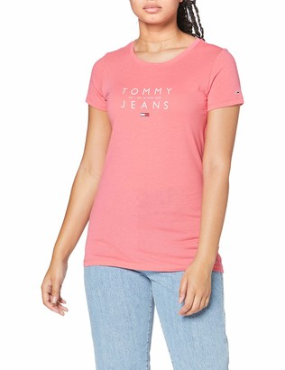 Tommy Jeans Women's TJW ESSENTIAL LOGO TEE Shirt