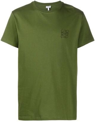 Loewe Anagram embroidery T-shirt