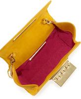 Z Spoke Zac Posen Eartha Mini Suede Crossbody Bag, Marigold