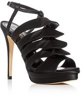 Jerome C. Rousseau Quorra Satin High Heel Sandals