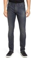 John Varvatos Bowery Fit Slim Straight Leg Jeans (Blue Store)