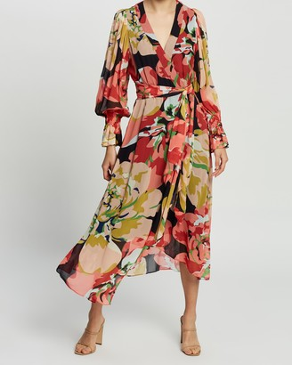 Ginger & Smart Delirium Wrap Dress