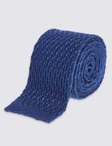 Marks and Spencer Pure Silk Luxury Knitted Tie