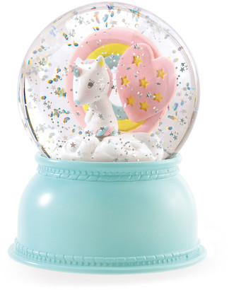 Djeco Unicorn Snow Globe Night Light