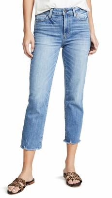 Paige Women's Hoxton Transcend Vintage High Rise Straight Crop Jean